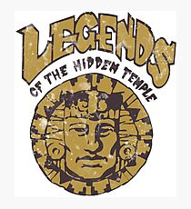 Legends of the Hidden Temple Photographic Print