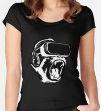 VR Gorilla Women's Fitted Scoop T-Shirt