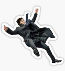 Sherlock Holmes (Reichenbach Fall) Sticker