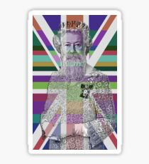 God Shave the Queen! Sticker