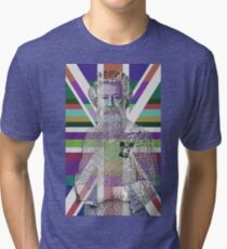 God Shave the Queen! Tri-blend T-Shirt