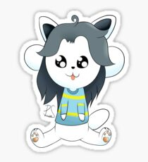 temmie sticker Sticker