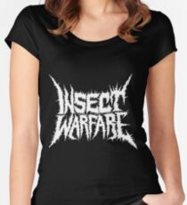 Insect Warfare Women's Fitted Scoop T-Shirt