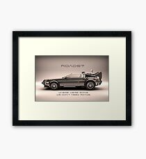 No Roads Framed Print