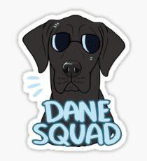 DANE SQUAD (black) Sticker