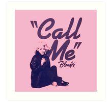 Blondie Music Cover  Art Print