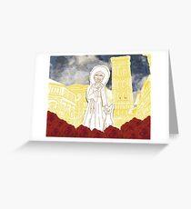 Family's Favorite Saint Greeting Card