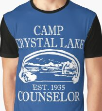 Camp Crystal Lake Counselor Graphic T-Shirt
