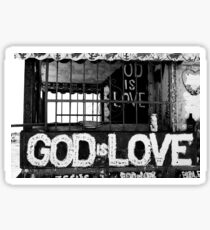 God Is Love Photo Sticker