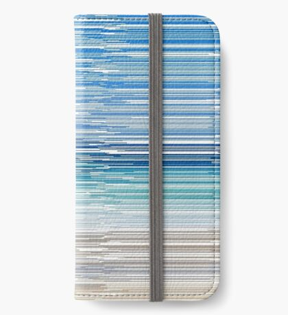 Summertime Blues iPhone Wallet