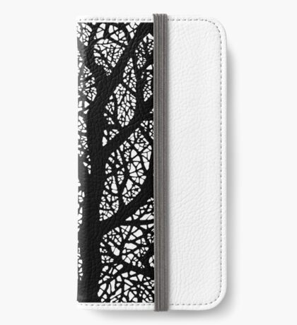 Tree Geometry iPhone Wallet