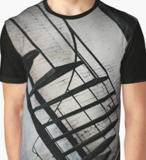 Stairway To Sky In Alleyway Graphic T-Shirt