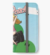 Miss Peach Pin-Up iPhone Wallet/Case/Skin