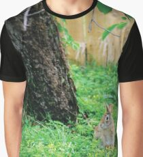 Our Backyard Bunny Graphic T-Shirt