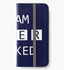 I Am SHER Locked iPhone Wallet/Case/Skin
