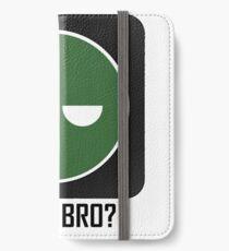 Superintendent U MAD BRO? (Winking SI) iPhone Wallet/Case/Skin
