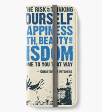 Christopher Hitchens: Think For Yourself iPhone Wallet/Case/Skin