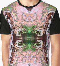 Exploding Peach Blossom Graphic T-Shirt