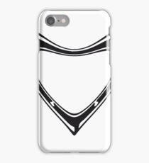 logo, crest, shield technologically circular elliptical pattern rectangular umrandung empty text write cool design futuristic iPhone Case/Skin