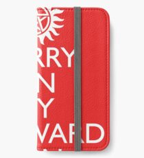 SUPERNATURAL UNOFFICIAL THEME SONG SAM AND DEAN WINCHESTER iPhone Wallet/Case/Skin