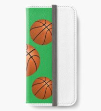 Did Someone Say Basketballs? by 'Chillee Wilson' iPhone Wallet/Case/Skin