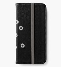Bullet Holes by Chillee Wilson iPhone Wallet/Case/Skin