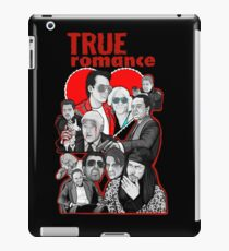 True Romance character collage art iPad Case/Skin