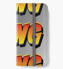 Cartoon BANG by Chillee Wilson iPhone Wallet/Case/Skin