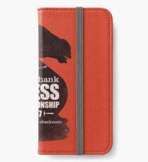Shawshank Chess Comp iPhone Wallet/Case/Skin
