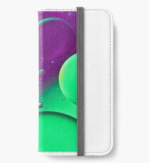 Bright Green & Purple Bubble Mix-iPhone Case iPhone Wallet