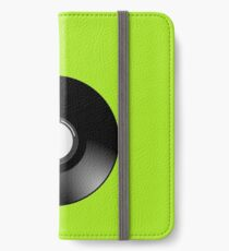 Vinyl Record by Chillee Wilson iPhone Wallet/Case/Skin