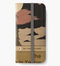 The King in Yellow iPhone Wallet/Case/Skin