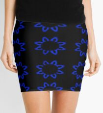Tranquil Water Lily  Mini Skirt