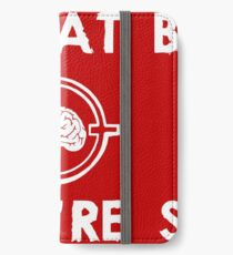 Zombies Eat Brains... So You Are Safe iPhone Wallet/Case/Skin