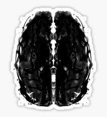 Inkblot Brain Sticker