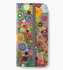 Childhood Dreams, a colourful spirograph drawing! iPhone Wallet/Case/Skin