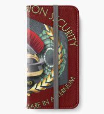 Lone Centurion Security iPhone Wallet/Case/Skin