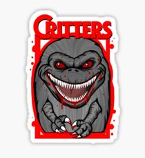 Critters Crite shirt 80s horror cult classic Sticker