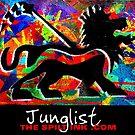 THE SPILT INK. Junglist by thespiltink