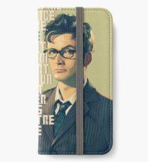 David Tennant - He's wonderful iPhone Wallet/Case/Skin