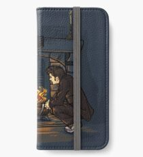 The Witch in the Fireplace iPhone Wallet/Case/Skin