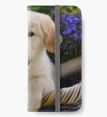 Charming Goldie Puppy iPhone Wallet/Case/Skin