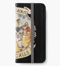 Cats Against Cat Calls iPhone Wallet/Case/Skin