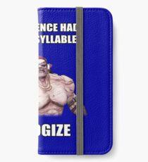 Herr Torgue Zitat iPhone Flip-Case/Hülle/Klebefolie