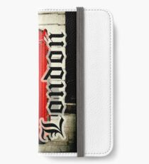 Red London Telephone Box Case iPhone Wallet/Case/Skin