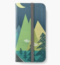 the Long Road at Night iPhone Wallet/Case/Skin