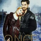 Captain Swan Comic Poster Version 1 by Marianne Paluso
