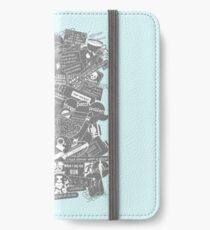 Ultimate Sherlock - Black and White Edition iPhone Wallet/Case/Skin