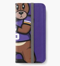 VICTRS - Teddy Football™ iPhone Wallet/Case/Skin