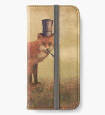 Crazy Like a Fox iPhone Wallet/Case/Skin